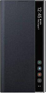 Samsung Clear View Cover Schutzhülle Note 10 plus - Schwarz (EF-ZN975CBEGWW)-01