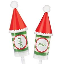 Santa Hat Christmas Treat Pop Decorating Kit from Wilton #0350 - NEW