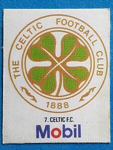 Mobil Football Club Badges Silk 1983 Celtic