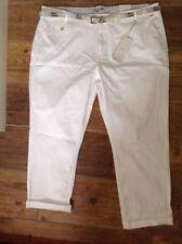 Cotton Plus Size Capri, Cropped 26L Trousers for Women