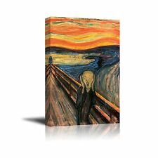 Wall26 The Scream by Edvard Munch Giclee Canvas Prints Wrapped ... Free Shipping