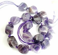 Natural 14-16mm Amethyst Freeform Chips Jewelry Making necklace Gemstone Beads