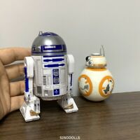 Lot Star Wars R2-D2 & BB-8 Droid Action Figure Force Awakens Model Toy For Boy