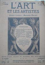 L'Art et les artistes 06/1908 - Gaston LATOUCHE - Wilhelm BUSCH ...