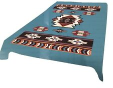 Turquoise Southwest New Korean Style cozy Queen size Blanket