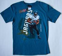 Boys REEBOK JACKSONVILLE JAGUARS # 32 MAURICE JONES-DREW T shirt jersey size L