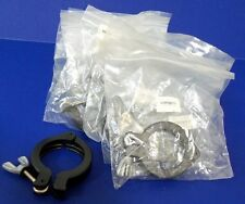 VARIAN KQ-40-AW CLAMPS, LOT OF 11, NEW IN BAG