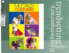 McCall's 5502 Adorable Dog Costumes Pattern