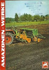 Farm Equipment Brochure - Amazone Power Harrow Culti Packer Roller c1979 (F5425)