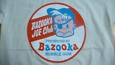 New,BAZOOKA JOE CLUB T-Shirt Size XL.Retro 70's Bubblegum,Sweets,Tuck Shop,Punk