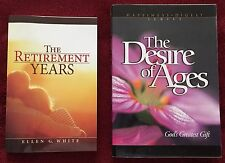 Ellen G White Duo: The Retirement Years ~ The Desire of Ages EGW Adventist Books