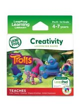 LeapFrog Creativity Learning Game DreamWorks Trolls Works With LeapPad Tablets