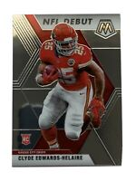 2020 PANINI MOSAIC CLYDE EDWARDS-HELAIRE NFL DEBUT RC ROOKIE CARD - KC CHIEFS