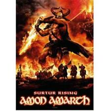 OFFICIAL LICENSED - AMON AMARTH - SURTUR RISING SEW ON BACK PATCH VIKING METAL