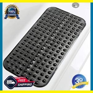 Absorbent Non-Slip Bath Mats Bathtub Antibacterial Vinyl Bathroom Floor Carpet