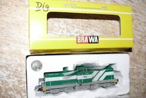 S96  Brawa 0418 Diesellok V150 -4 PCK AK digital