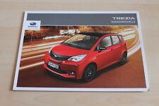 99846) Subaru Trezia Sport + Edition Prospekt 05/2012