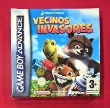 Vecinos Invasores - NINTENDO - GAME BOY ADVANCE - NUEVO