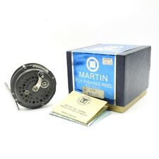 Martin Model MG-10 Fly Fishing Reel. Made in USA. W/ Box.