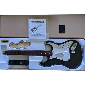 Harmonix Fender Stratocaster Guitar for the PS4 model 91261 Bluetooth Wireless