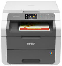 Brother - HL-3180CDW Wireless Color All-In-One Laser Printer - White/Gray