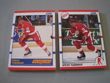 T12 LOT of 29 1990 Score Hockey STEVE YZERMAN Cards #3 & #339 DETROIT RED WINGS