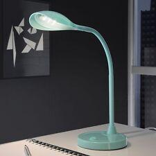 LED Schreibtischlampe Tischlampe Kinder Nachttisch Leselampe Türkis T83-1 B-Ware