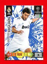 CHAMPIONS LEAGUE 2010-11 Panini 2011 - BASIC Card - HIGUAIN - REAL MADRID