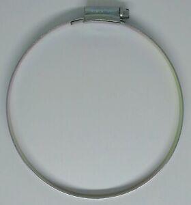 Orbit Hose Clip W1 Mild Steel Zinc Plated  Size 6 (100-125mm)