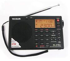 TECSUN PL-310ET Digital Alarm Clock Radio with ETM FM Stereo/AM/LW/SW  (Black)