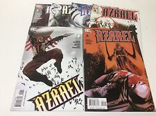 AZRAEL #1-6 (DC/2009/NICIEZA/JOCK/MATINA COVERS/WOW/0217290) COMPLETE SET OF 6