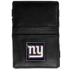 New York Giants NFL Leather Bi-fold Jacob's Ladder Style Wallets