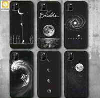 Phone Cases Space Astronaut Planet Star Frosted Soft For iPhone 7 8 Plus XR Case