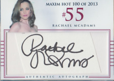 Rachel McAdams authentic custom cut cert autograph auto card GA COA