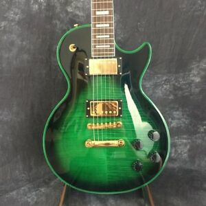 Custom Production Factory Green High Quality Electric Guitar Fast Shipments