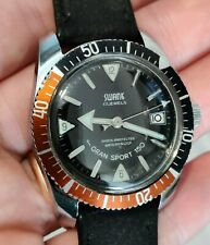 Vintage Swank 17j Gran Sport 150 Skin Diver watch in great condition, works well