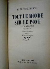 Tout le monde sur le pont Tomlinson Edition 1940