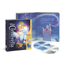 Cinderella - Exclusive Disney Diamond Edition Blu-ray + DVD + Story Book [NEW]