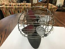 Vintage 9 Inch Electric Table Fan Works Well