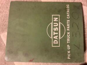 Datsun 320 pick-up  factory parts catalog