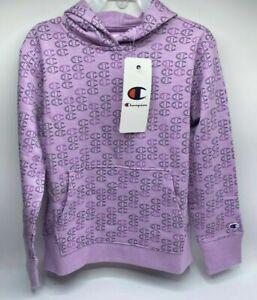 Girl's Size S(7/8) Lightweight Champion Pullover Hoodie Purple Brand New