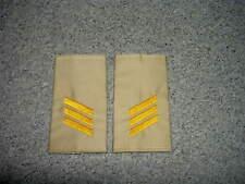 Rangschlaufen Bundesmarine Oberstabsgefreiter gelb in blau