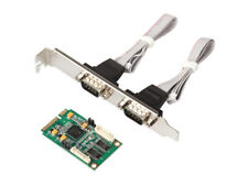 MINI PCI-E-RS232 serial card 9-pin COM 2 port expansion card