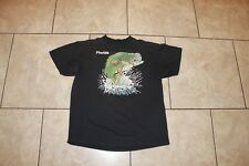 Vintage Florida Shirt Tour Puffy Print L Tee Fish Bass Tourist 80s Thin L  Delta