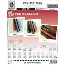 Jeux SC France 2019 deuxième semestre avec pochettes.