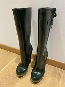 Louis Vuitton - Marc Jacobs rubber boots - size eu 40 - hunter green