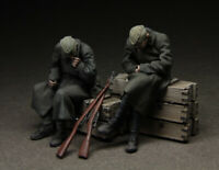 1:35 WW2 Soviet T3553 Soldiers High Quality Resin Kit 2 Figures