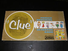 CLUE PARKER BROTHERS 1963 VERY CLEAN!