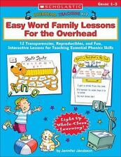 Overhead Teaching Kit: Easy Word Family Lessons for The Overhead: 12