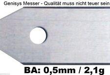 30 Messer(0,5mm)+3 gratis (0,75mm) Husqvarna Automower 305 308 310 315 320 330X